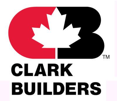 clark builders canada logo